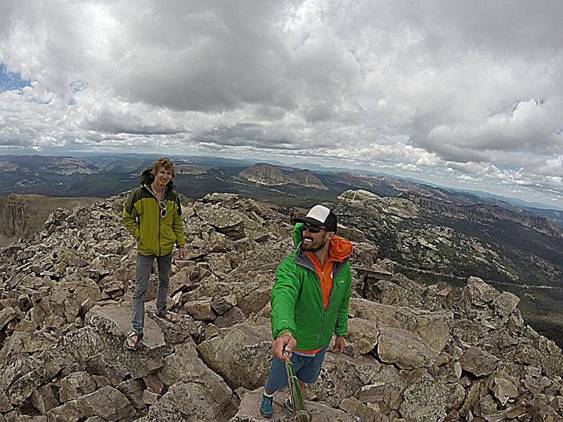 Rock Climbing Photo: Hayden Peak - Uinta Mountains
