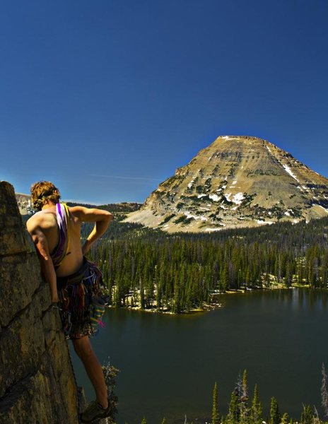 Rock Climbing Photo: Scout Lake Area - Uinta Mountains