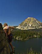 Rock Climbing Photo: Scout Lake Area - Uinta Mountains