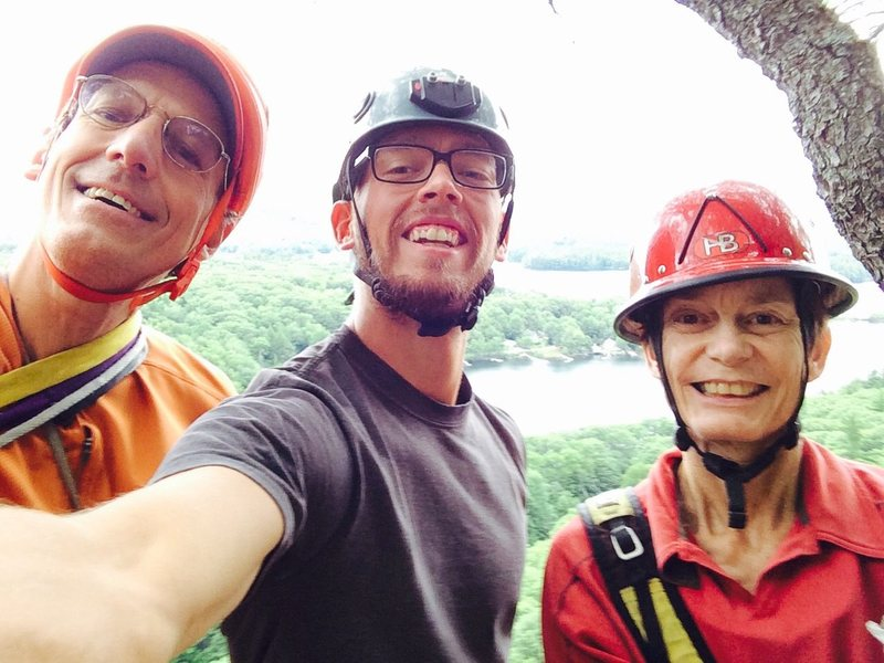 Ben and Dorcas Miller were nice enough to take a random Idaho guy for some awesome roadside climbing in Camden, Maine.