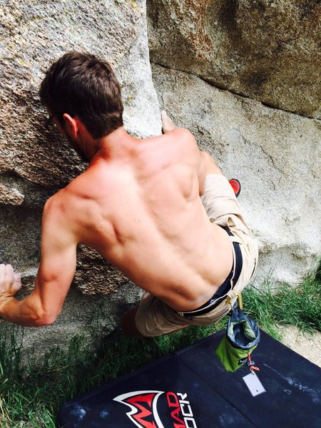 Rock Climbing Photo: City of Rocks bouldering
