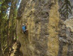 Rock Climbing Photo: Booze Cruize, 5.11d  The absolute best power endur...