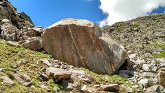 Rock Climbing Photo: Apollo Boulder in all of its glory.