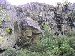 Rock Climbing Photo: Left wall.