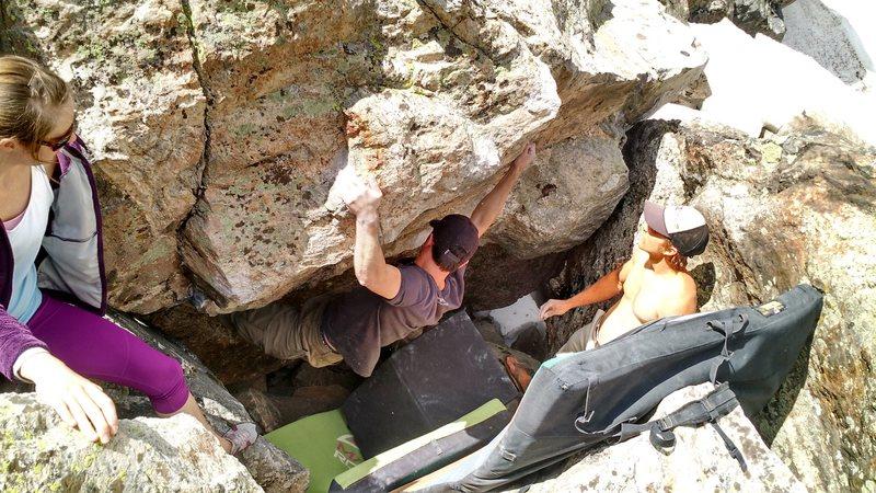 Rock Climbing Photo: Jim.