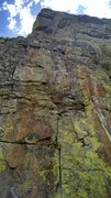 Rock Climbing Photo: Pitch 2.  Not complete but looks nice. There is at...