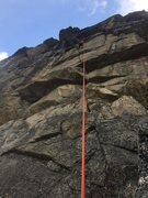 Rock Climbing Photo: Griswald getting old school on Walkmen and Buttonh...