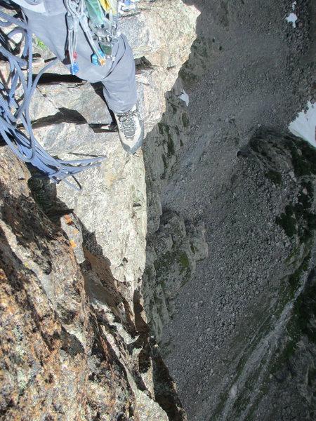 Rock Climbing Photo: S face petit