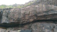 Rock Climbing Photo: Underside