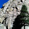 Jacksons Wall/Cussin Crack, Castle Rock