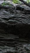 Rock Climbing Photo: Rolling Coal- 12b.