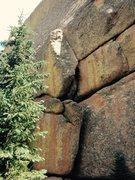 Rock Climbing Photo: Silver Surfer.
