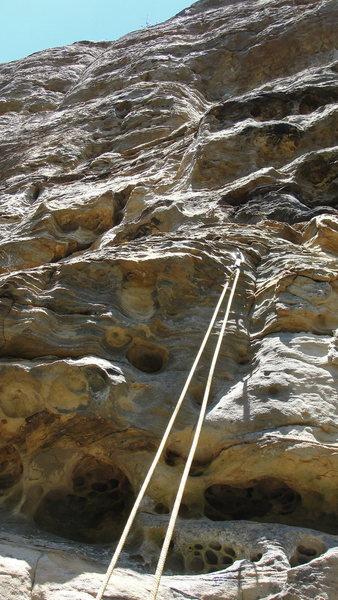 Rock Climbing Photo: Clay City Exit- 11a.