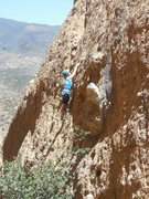 Rock Climbing Photo: The lower slab of Leather and Lace.