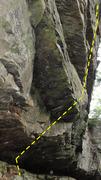 Rock Climbing Photo: 1554- 12b.