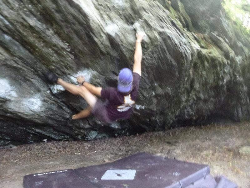 Boulder problem.