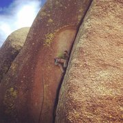 Rock Climbing Photo: Finally