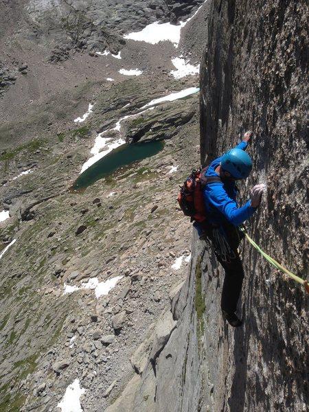 Rock Climbing Photo: Amazing face climbing.