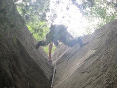 Rock Climbing Photo: Classic Good Book Stemming