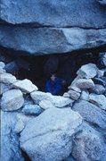 Rock Climbing Photo: Long's Peak bivy.