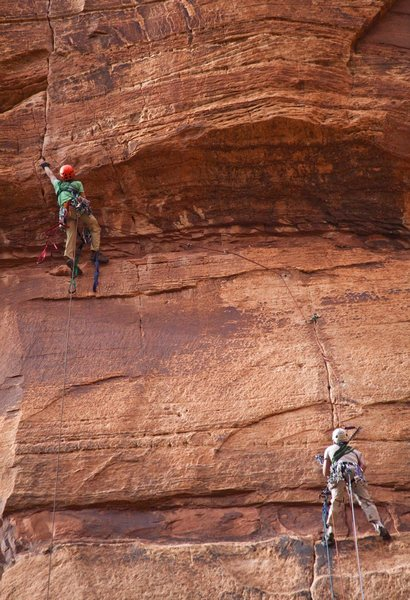 Rock Climbing Photo: Touchstone