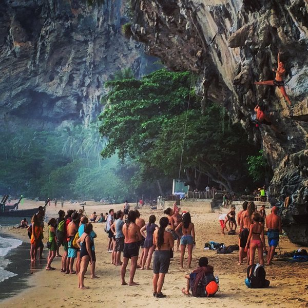 Rock Climbing Photo: Tonsai Beach (You'd be wise to avoid the Christmas...