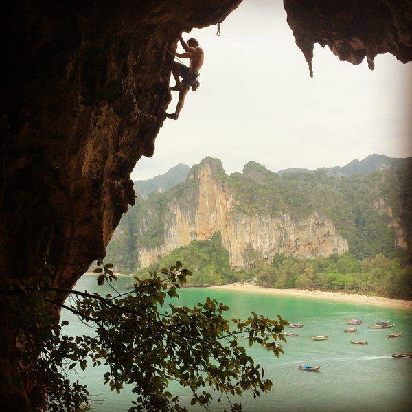 Rock Climbing Photo: Taiwand Wall