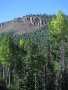 Rock Climbing Photo: The Upper Jungle perching at 10,000 feet