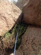 Rock Climbing Photo: A close view of the start.