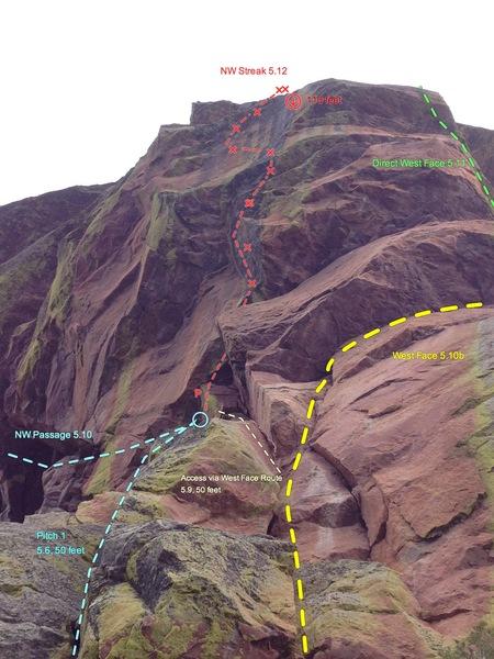 Rock Climbing Photo: a