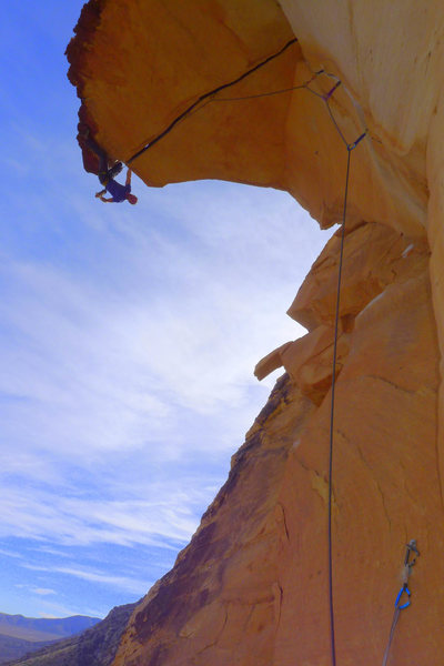 Rock Climbing Photo: Psyched to finally send after many tries over the ...