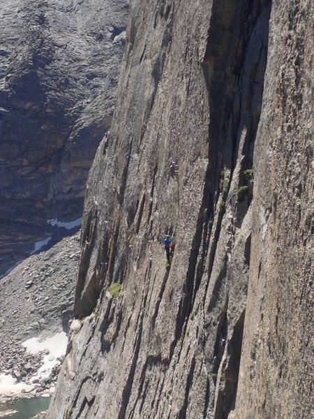 Climbers on Spear Me The Details on 7/25/2015.
