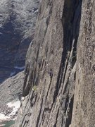 Rock Climbing Photo: Climbers on Spear Me The Details on 7/25/2015.