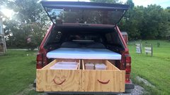 Rock Climbing Photo: Finished product drawers open- front view