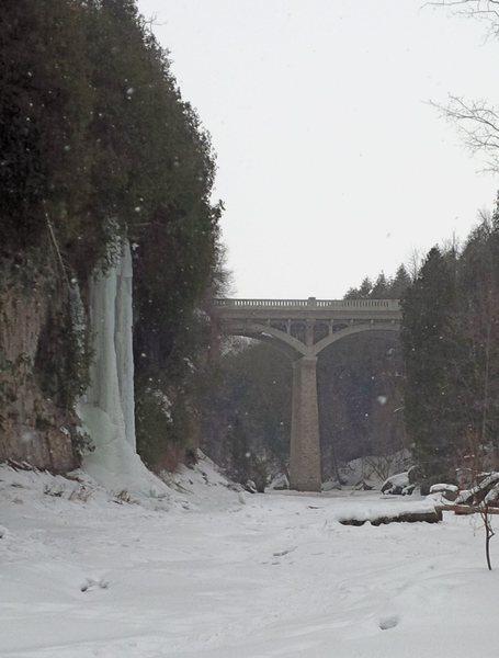 Ontario ice