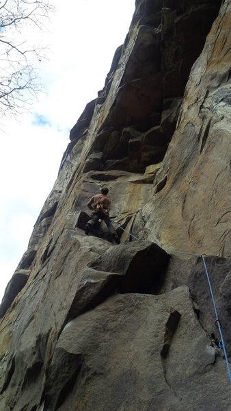 Rock Climbing Photo: Starting the goods