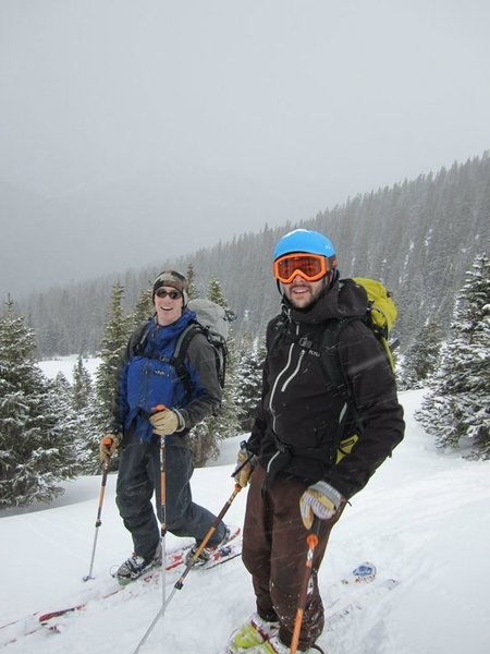 Rock Climbing Photo: Butler Gulch ski tour