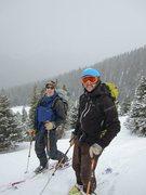 Rock Climbing Photo: Butler Gulch ski tour