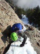 Rock Climbing Photo: 5th Flatiron Ice