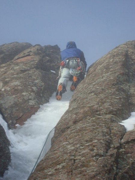 Rock Climbing Photo: 5th Flatiron Ice