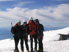 Rock Climbing Photo: Mt. Rainier summit, July 2003