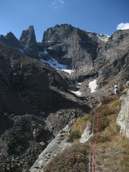 big ledge on Zowie, RMNP