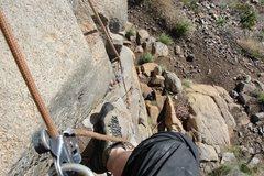 Rock Climbing Photo: Having fun on Easy Rider