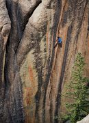 Rock Climbing Photo: Taken by Luke Ross
