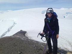 Rock Climbing Photo: Mt. Baker Summit via Coleman-Deming Glacier Route