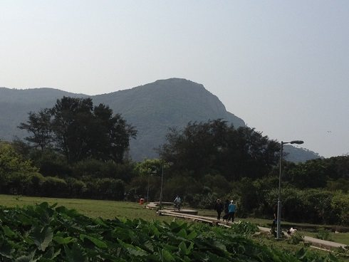 Rock Climbing Photo: Temple Crag from Pui O
