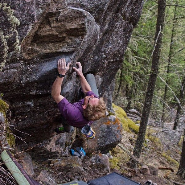 Rock Climbing Photo: The Golden Apple.