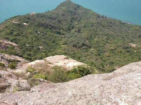 Rock Climbing Photo: main rappel station