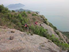 Rock Climbing Photo: gully