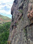 Rock Climbing Photo: Beautiful day on Levada.  (Photo: Julie Pudlo.)